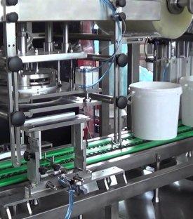 Bucket Pail Filling Sealing Machine