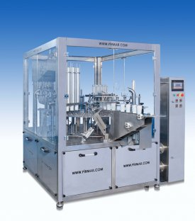 Dual Rotary Table Plastic Cup Buttermilk Filling Sealing Machine