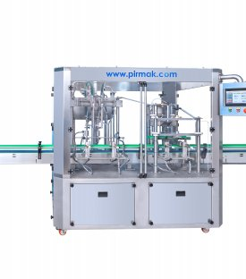 Plastic Bottle Filling Sealing Machine with Two Nozzles